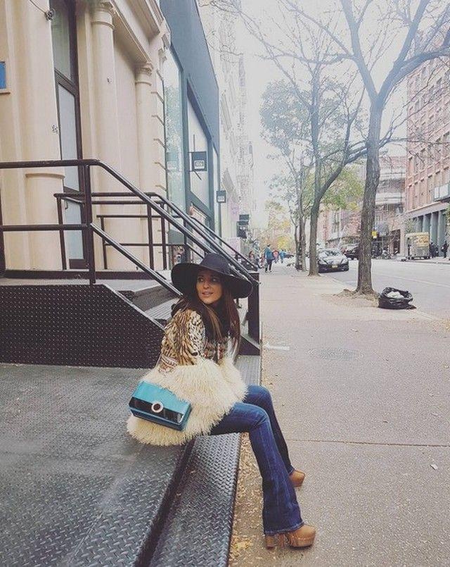 Ω Paula Echevarría en Nueva York.