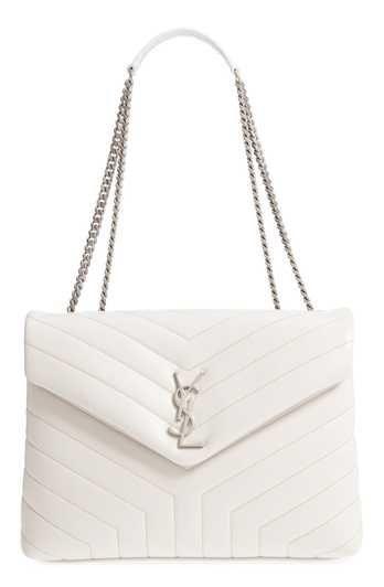 51b2f092b Saint Laurent Medium LouLou Calfskin Leather Shoulder Bag | Looks em ...