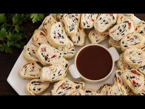 How to Make Tortilla Pinwheels