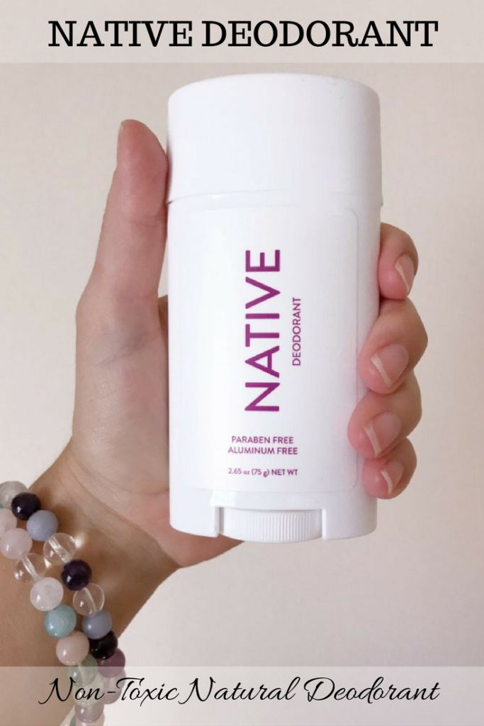My Switch to Natural Deodorant: Native, Non-Toxic, Aluminum Free Deodorant