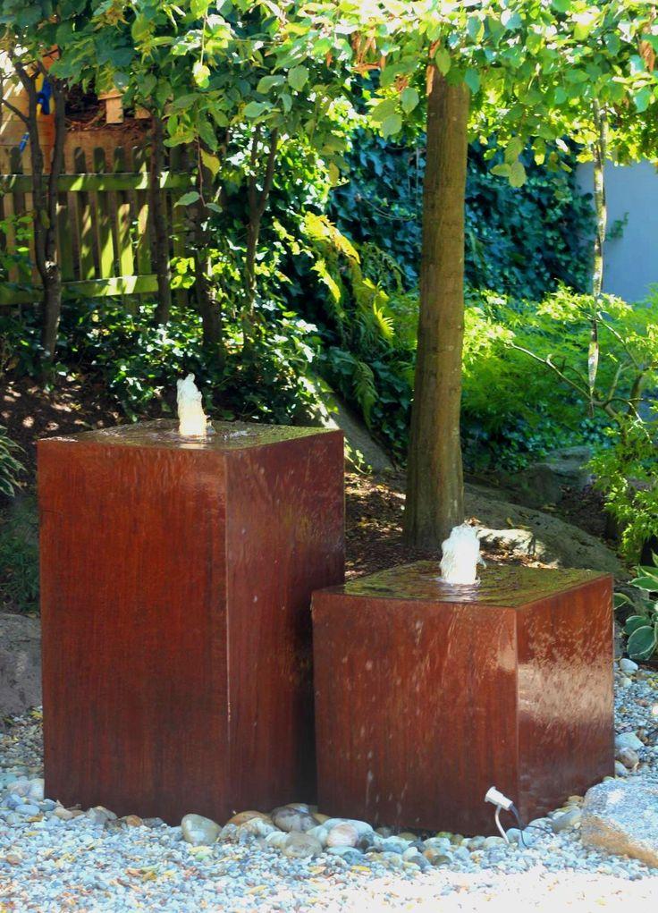 31 best Cortenstahl Edelrost images on Pinterest Corten steel - gartenbrunnen modernes design