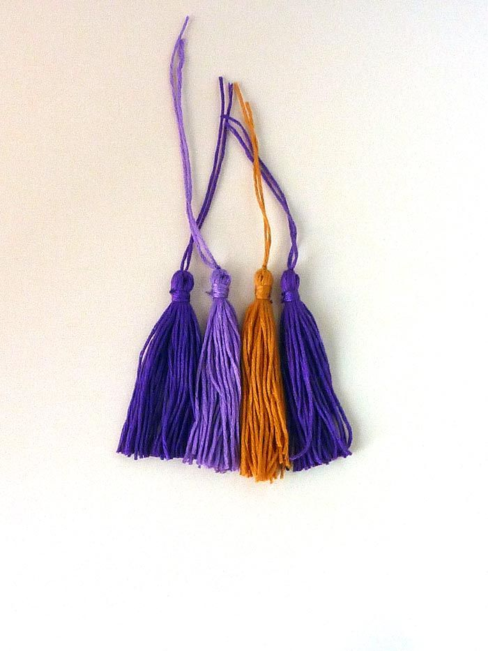 How to make a tassel tutorial. Lily Allsorts