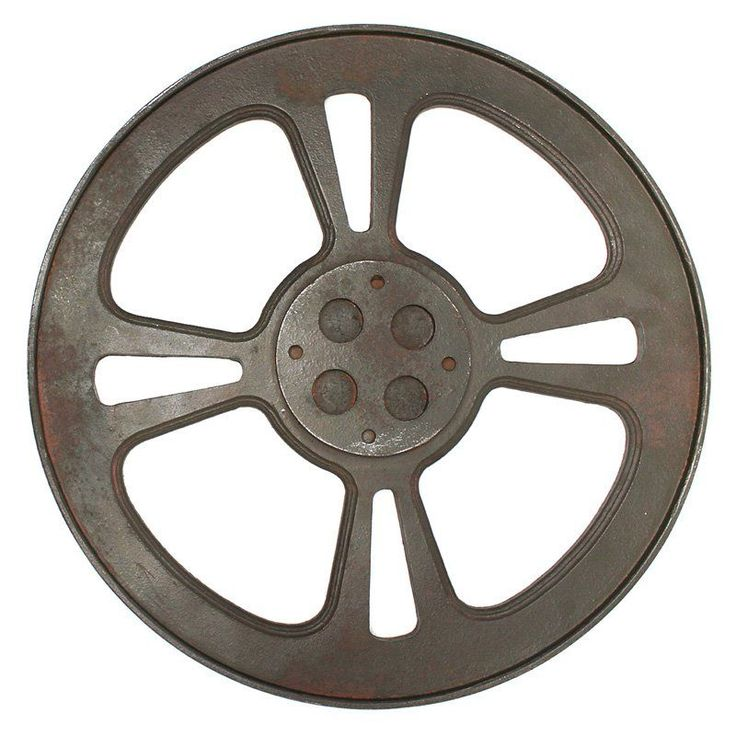 Design Toscano Cinema Film Reel Industrial Wall Sculpture - MHZ126