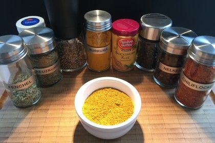 Curry selber machen 1