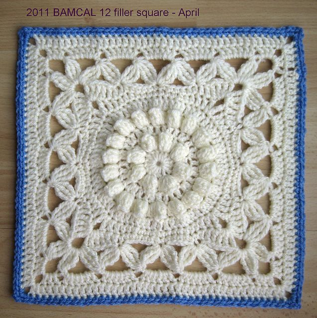 "Day 29: 12"" Block of the Day Crown Jewels by Melinda Miller  Free Pattern: http://www.ravelry.com/patterns/library/crown-jewels---12-square  May 2013 #TheCrochetLounge #12""Square Pick"