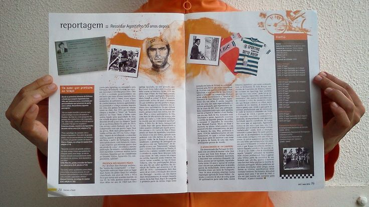 anafonso ilustra _ portrait of Joaquim Agostinho / Bike Magazine