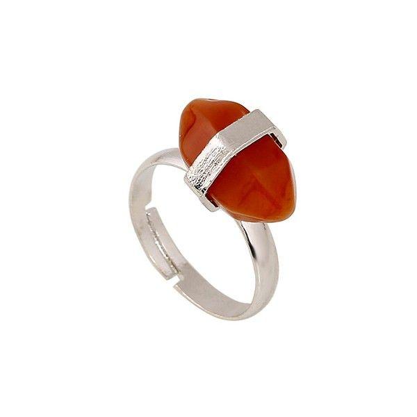 "Gemstone ring ""Rhodonite"""