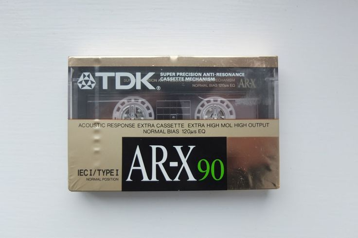 TDK AR-X 90 Minute cassette tape sealed Extra High Mol