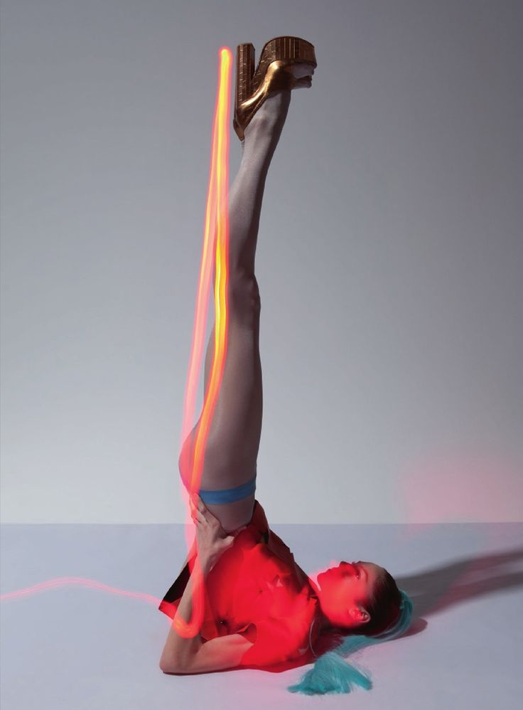 Corpus Electra | Lida Fox | Viviane Sassen #photography | Acne Paper 13 Spring/Summer 2012 #mixed_media #light_art