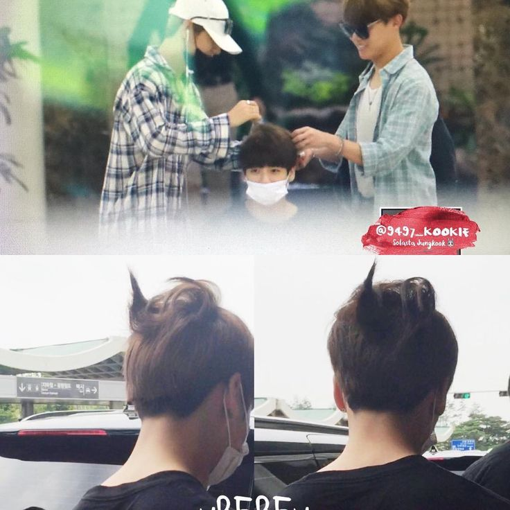160615 Jungkooks lovely new hairstyle done by tae and hobi - gebrauchte küchen nrw