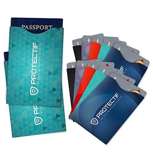 Rfid Blocking Credit Card Pport Sleeve Rfidblockingsleeve Creditcardsleeve Pportsleeve Size