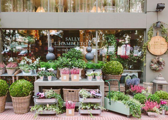 Sally Hambleton The Workshop Flores / Madrid. Fotos interior y exterior tienda