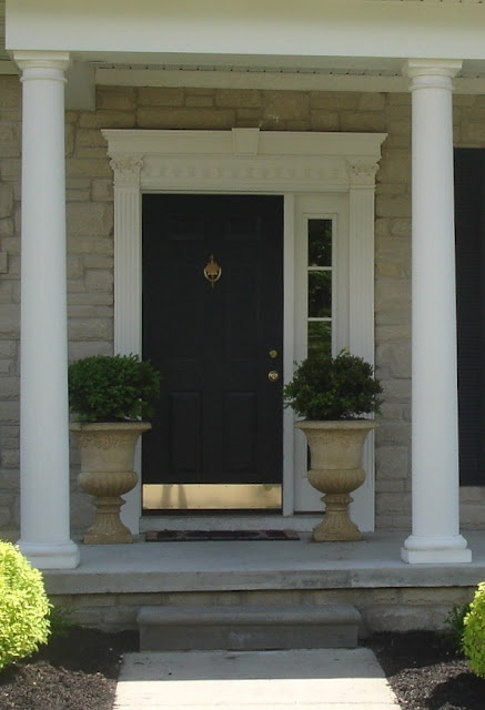 Front Door Paint Only Door Like This And The Rest White