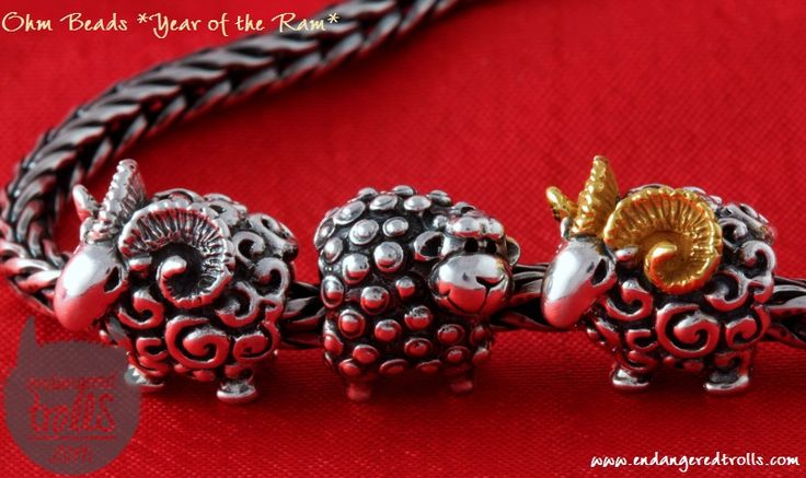 Ohm Beads Year of the Ram