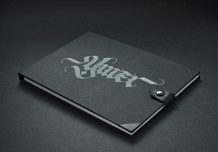 Calligraphy Sketchbook by Pracownia Leśna 6