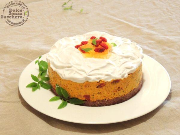 Torta di Agrumi + Contest di CiboCrudo | Dolce Senza Zucchero