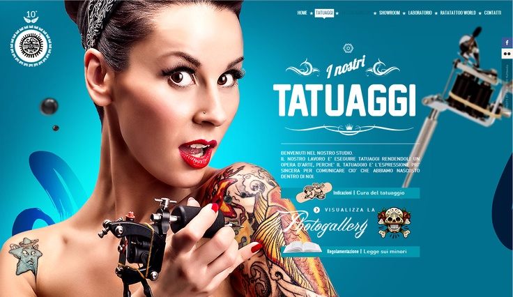 Tattoos and parallaxe http://www.ratatattoo.it/