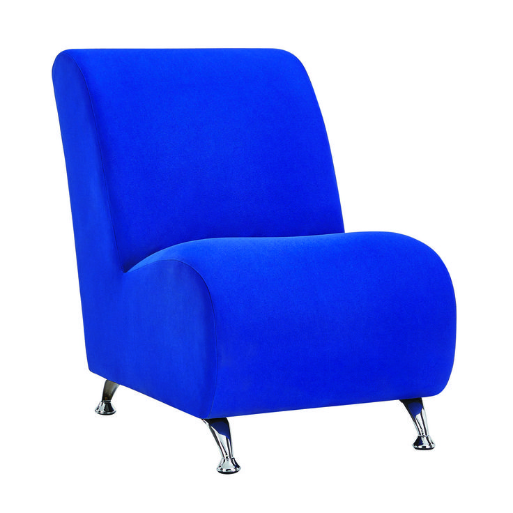 The brand new range of Lulu chairs are all about striking contemporary lines and bold colours. Available in cobalt blue, red and yellow. Price $199.