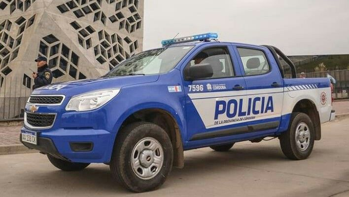 Chevrolet S10 . Policia de la Provincia de Cordoba.