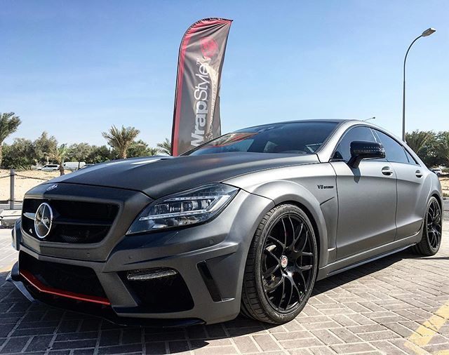Instagram media by wrapstyle_qatar - Mercedes CLS 63 AMG grey matte  @wrapstyle_qatar @hotrod_automotive_group @stonealmasri @wrapstyle_dubai @wrapstyle_kuwait @wrapstyle_riyadh @wrapstyle #wrapstyle #carstyle #qatarcarwrap #qatarcars #qtrcars #uaecars #autowrap #streetcars #vinyl #gcccars #arabcars #cardesign #wrap #offroad