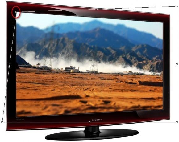 Effetto cornice TV