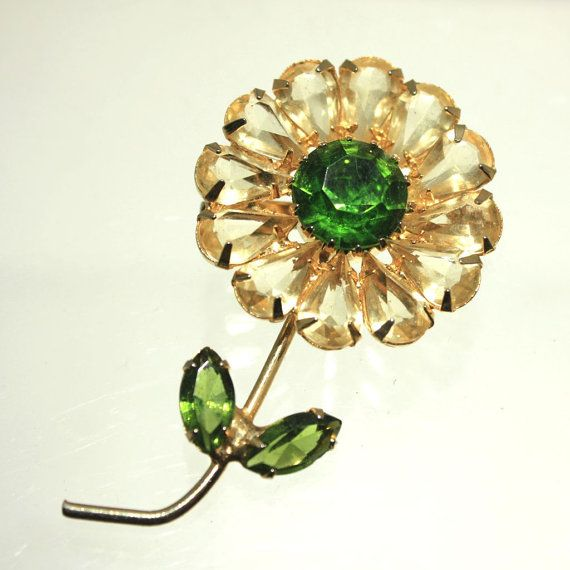 A burst of Spring brooches by L Bishop on Etsy