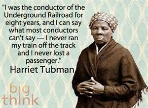 This quote is significant because she always cared for the people she was leading to freedom and she conducted the underground railroad for slaves.