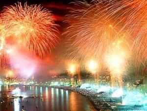 new year's eve fireworks, Rimini