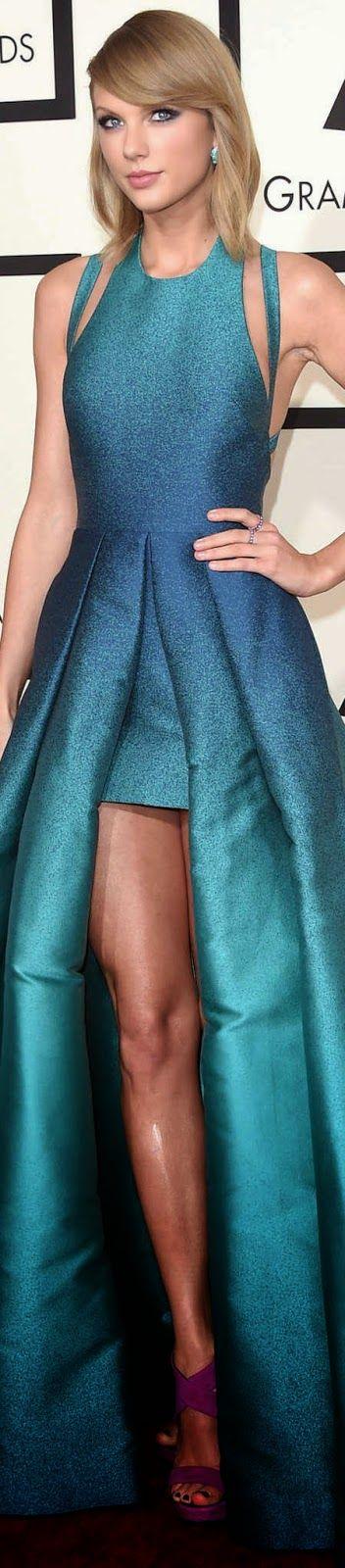 Taylor Swift 2015 Grammy Red Carpet Fashion