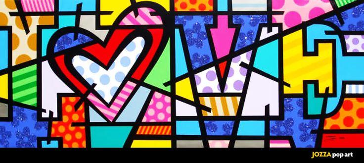 Pop art - heart