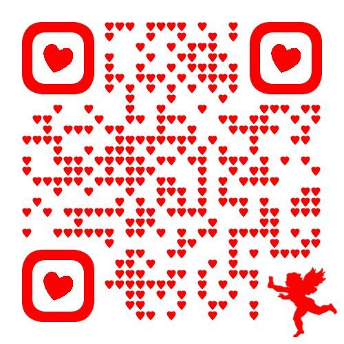 72 best Valentines images on Pinterest | Qr codes, Coding and ...