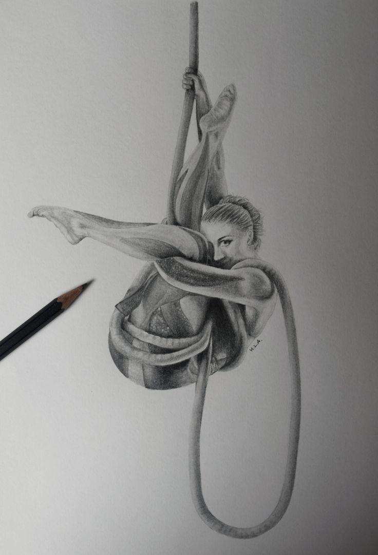 Faerialist #aerial #aerialacrobatics #circus #drawing #artist #rope #cordelisse #corde #lisse