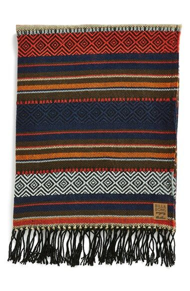 Billabong+'Gypsea'+Blanket+available+at+#Nordstrom