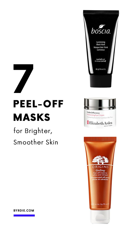 The best peel-off masks