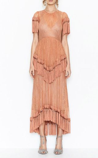 More Than A Woman Fringe Gown by ALICE MCCALL for Preorder on Moda Operandi