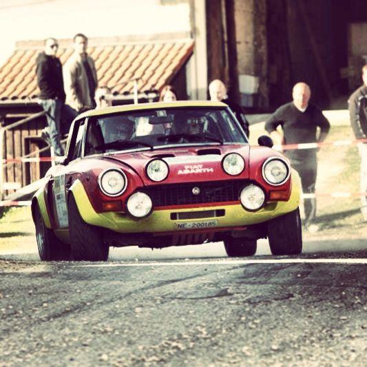 Rally Car... Fiat 124 Abarth Spider