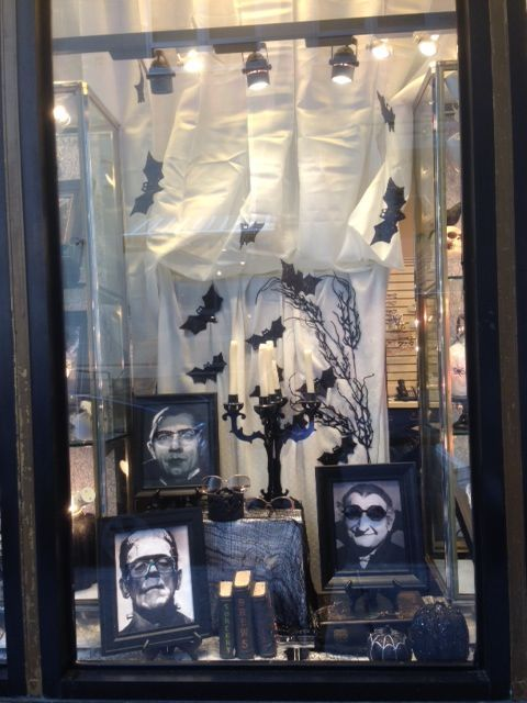 A Spooktacular Halloween Window | The Optical Vision Site