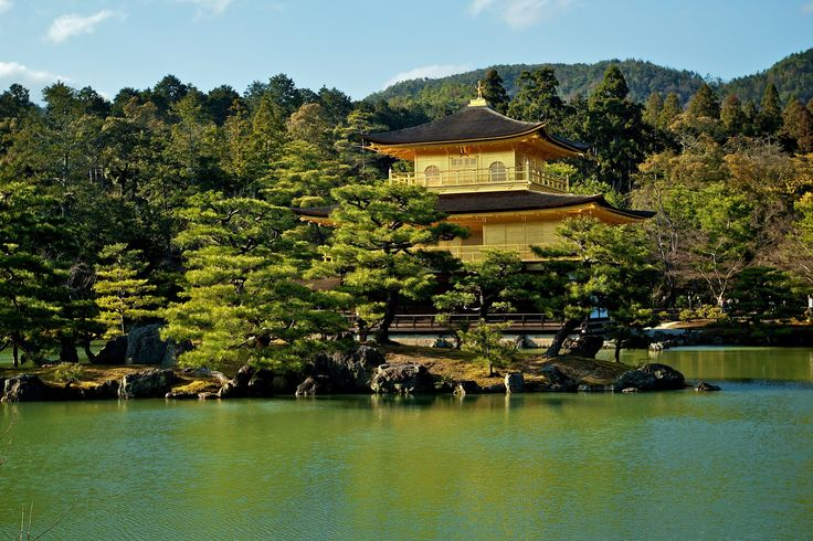 Kinkaku-ji, the Temple of the Golden Pavilion by Fotopedia Editorial Team