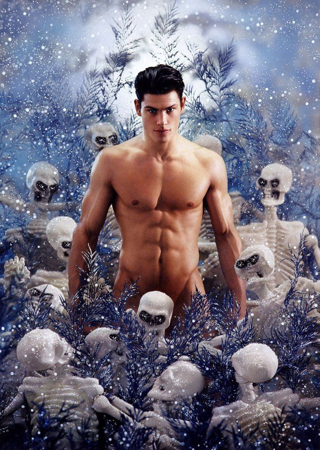 Exhibition: 'The Naked Man' at Ludwig Museum of Contemporary Art, Budapest http://wp.me/pn2J2-4jx Dr Marcus Bunyan. Photo: Pierre et Gilles. 'The Death of Adonis' 1999