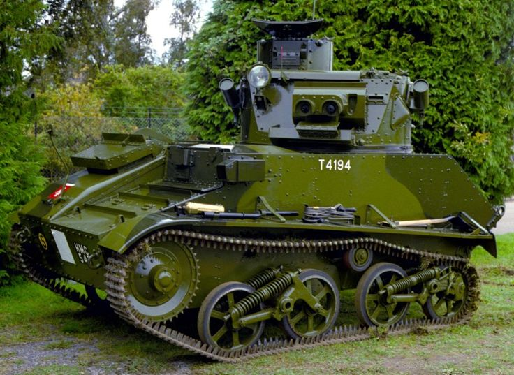 Vickers Mk.VI light tank