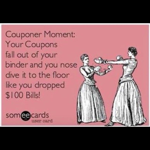 Funny sayings couponing