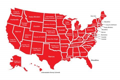 Here are the Most Popular Netflix Shows by State in the U.S.