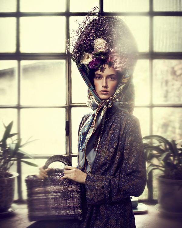 Amazing fashion photographer! German Gala by Elizaveta Porodina | InspireFirst