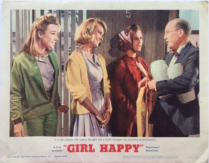 Elvis Presley Girl Happy Movie Poster Print New