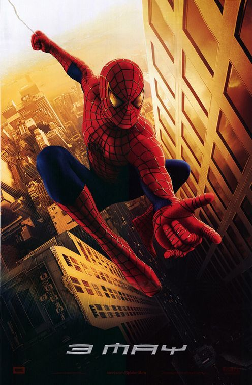 Spider-man Movie Poster by Vox and Associates (2002)