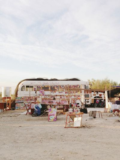 Slab City Art Art Print