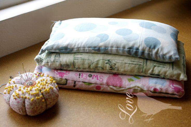 Hand Sewn Rice Heating Bag