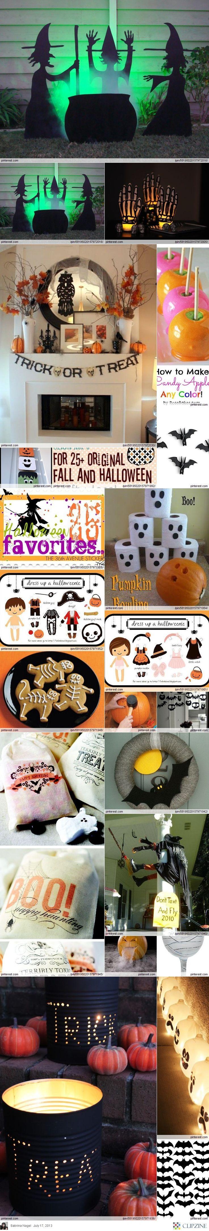Lots of Fall / Halloween Ideas & food