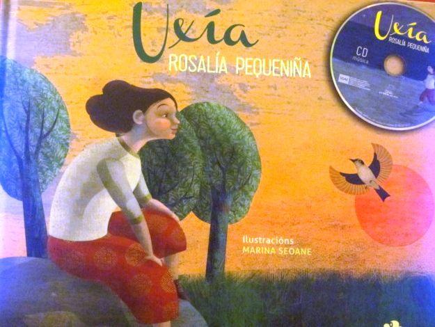 """""""ROSALÍA PEQUENIÑA"""" é un libro-CD onde Uxía Senlle déixanos un feixe de cancións para retratar esa muller que uns chamaron tola e outros santa: a verdadeira Rosalía."""