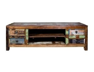 Another TV cabinet idea made from Recycled Boat wood - TV Cabinet 4 Drw